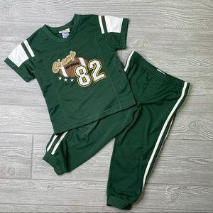 Mini wear kids football track suit sweat pants